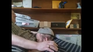 Daddy gets a blowjob